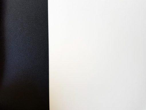 פי וי סי דמוי אריח שחור לבן גדול